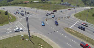 Aerial Photo of Intersections